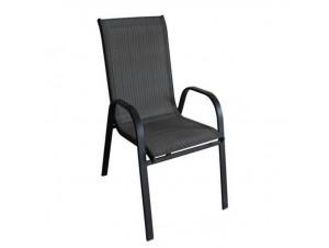 Πολυθρόνα μεταλλική THEROS-BL-MBL