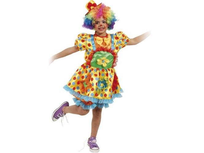 Αποκριάτικη στολή Κορίτσι Κλόουν Πεπίτα