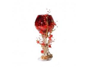 Διακοσμητικό ποτήρι κηροπήγειο