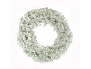 Χριστουγεννιάτικο Στεφάνι λευκό - 9444