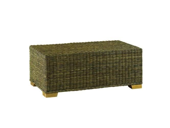 Τραπέζι με πλέξη από φυσικό Rattan 3171SB