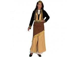 Παραδοσιακή Στολή Πόντια Χρυσή Μπροκάρ
