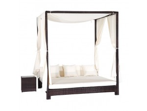 Daybed 489 Διπλή ξαπλώστρα με κιόσκι