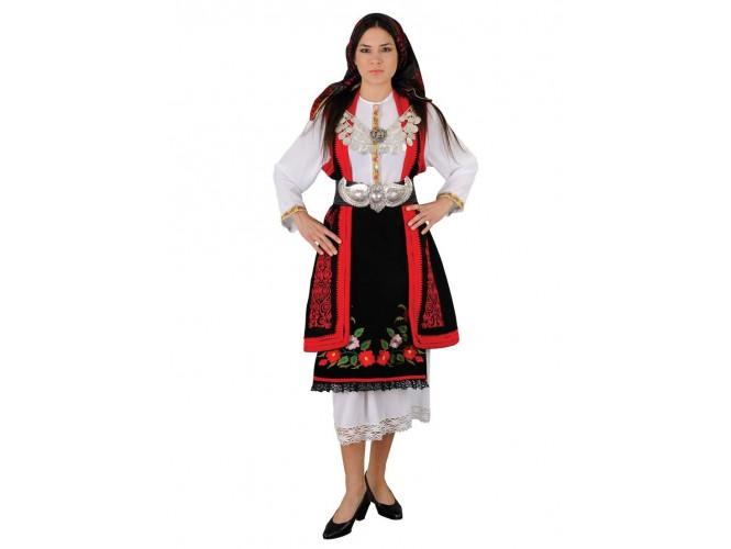 Παραδοσιακή Στολή Μακεδονίτισσα