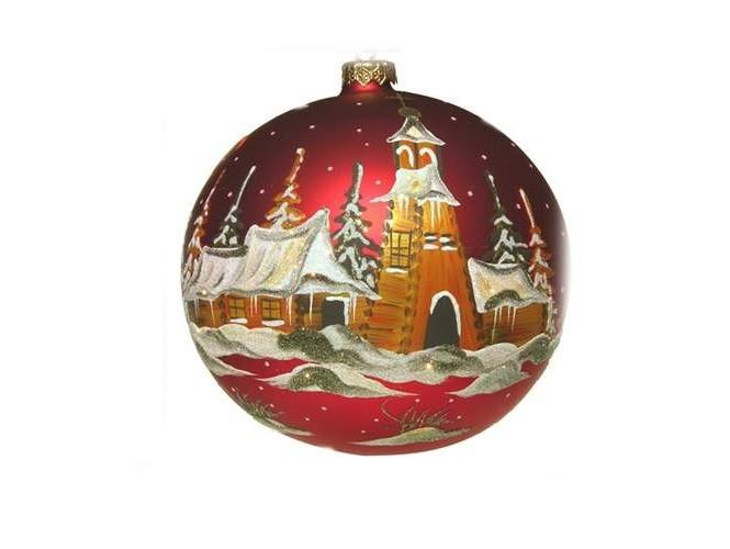 Χριστουγεννιάτικη Χειροποίητη Μπάλα