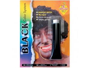 Αποκριάτικo μακιγιάζ Μαύρο