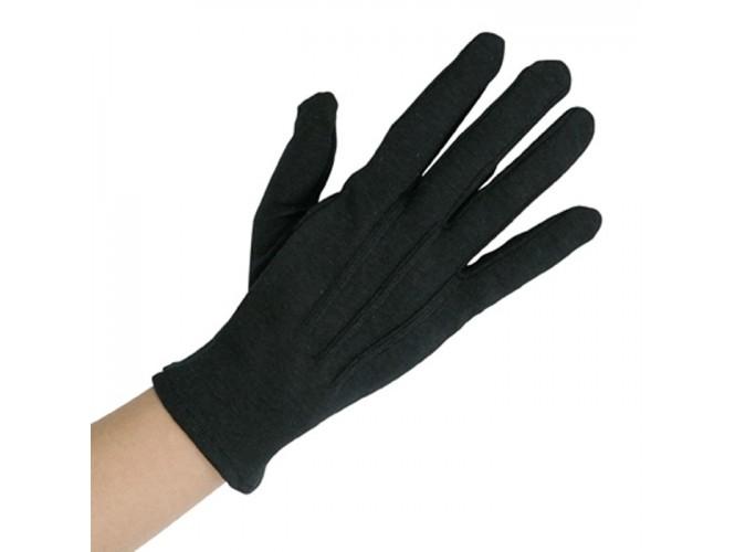 Αποκριάτικα κοντά μαύρα γάντια