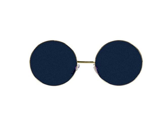 Καφέ μεγάλα στρογγυλά γυαλιά