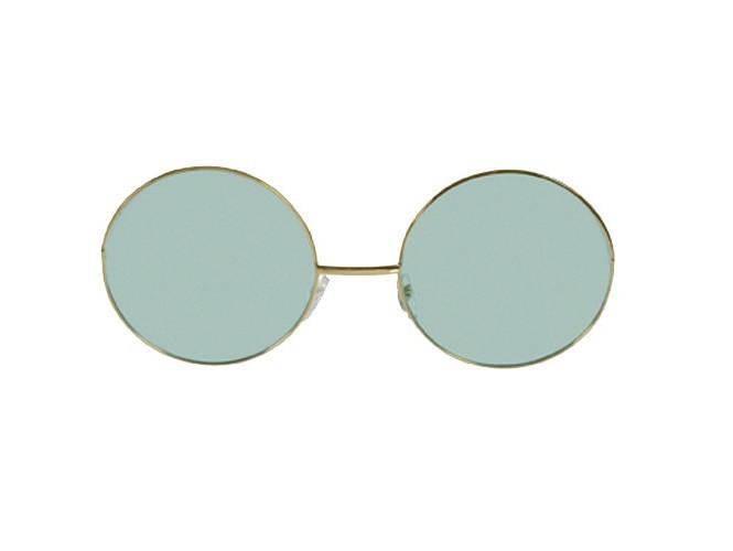 Πράσινα στρογγυλά γυαλιά