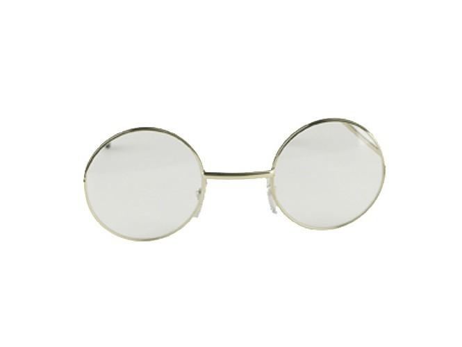 Διάφανα στρογγυλά γυαλιά