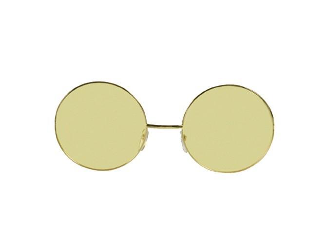 Κίτρινα μεγάλα στρογγυλα γυαλιά