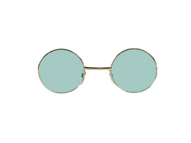 Τυρκουάζ στρογγυλά γυαλιά