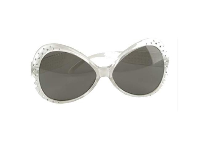 Αποκριάτικα γυαλιά με διαμαντάκια