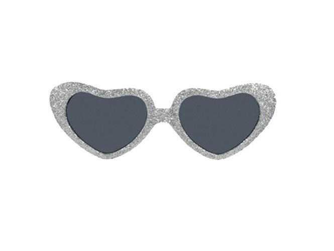 Γυαλιά καρδιες με στρας