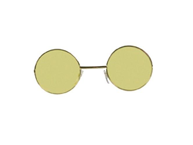 Κίτρινα στρογγυλά γυαλιά