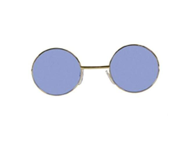 Μπλε στρογγυλά γυαλιά