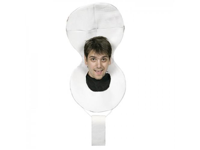 Αποκριάτικο καπέλο τουαλέτα