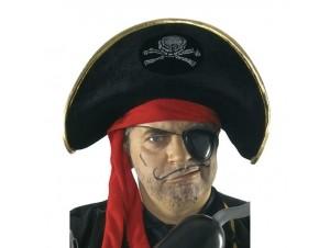 Αποκριάτικο καπέλο Πειρατή lux
