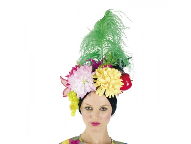 Αποκριάτικο καπέλο Βραζιλιάνας