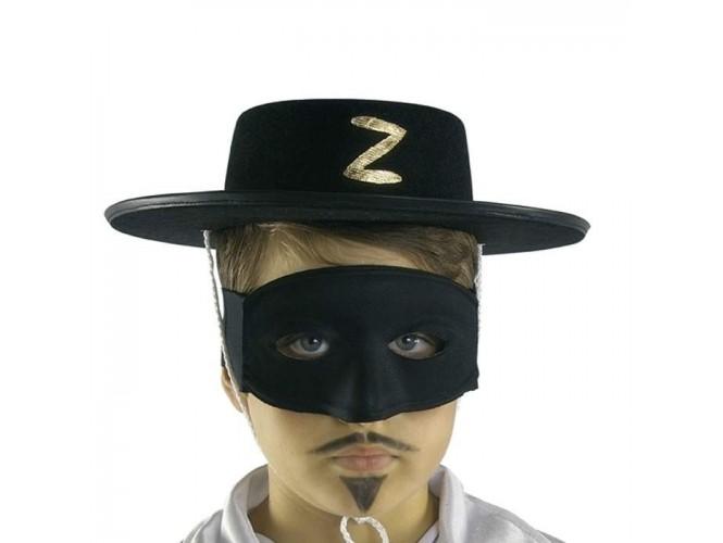 Αποκριάτικο παιδικό καπέλο Ζορρό