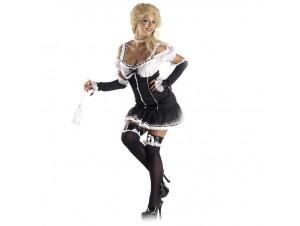 Αποκριάτικη στολή Sexy Καμαριέρα gothic