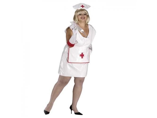 Αποκριάτικη στολή Σέξι Νοσοκόμα Plus