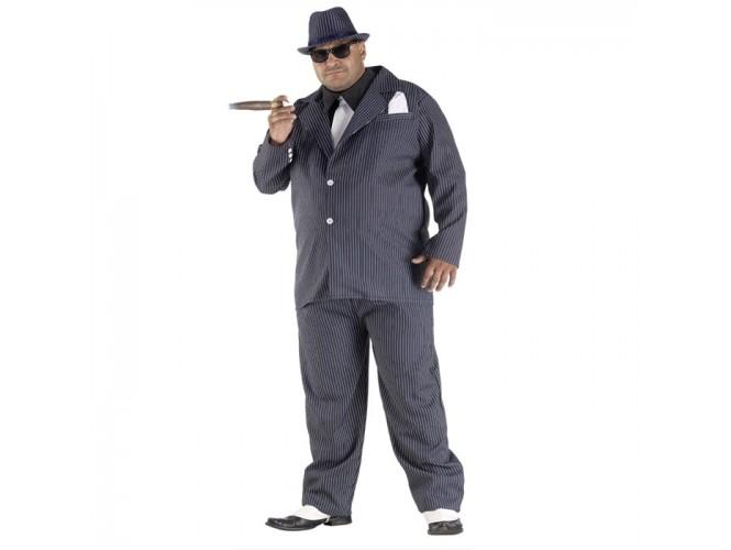 Αποκριάτικη στολή Μαφιόζος Plus