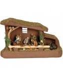 Χριστουγεννιάτικη Φάτνη Συνθετική Πράσινη - 8663