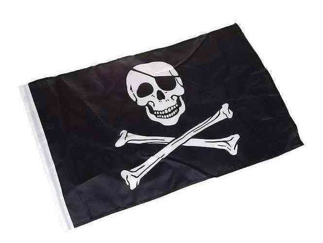 Αποκριάτικη σημαια πειρατή