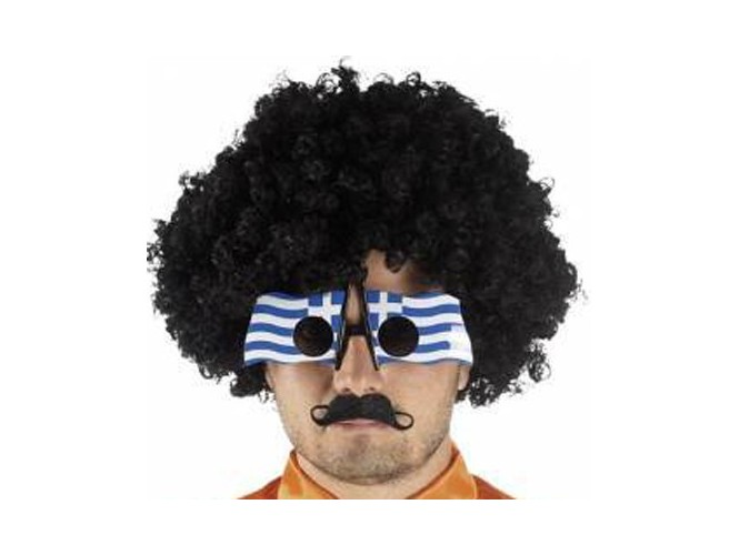 Αποκριάτικα γυαλιά Ελληνική Σημαία