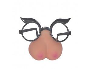 Γυαλιά με μύτη στήθος