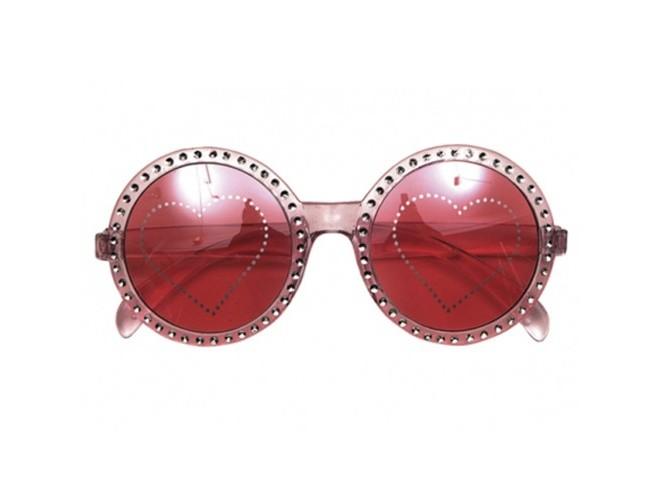 Αποκριάτικα γυαλιά με καρδιές