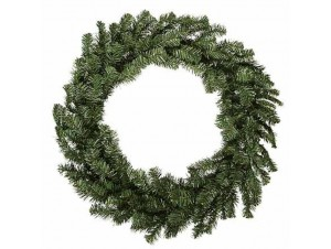 Παραδοσιακό Χριστουγεννιάτικο Στεφάνι 11075 75 εκατ