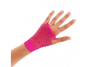 Αποκριάτικα κοντά διχτυωτά ανοιχτά γάντια
