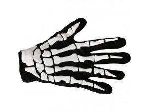 Αποκριάτικα κοντά γάντια σκελετού