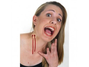 Αποκριάτικο Αξεσουάρ Πληγές με Κόλλα