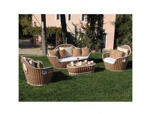 Καθιστικό κήπου Rattan