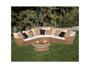 Καναπές Καθιστικό κήπου Rattan