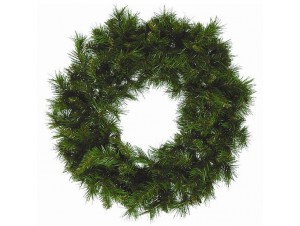 Παραδοσιακό Χριστουγεννιάτικο Στεφάνι 45 εκ
