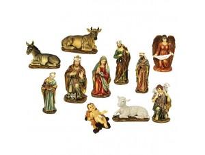 Χριστουγεννιάτικη Φάτνη με 11 μεγάλες φιγούρες 112cm