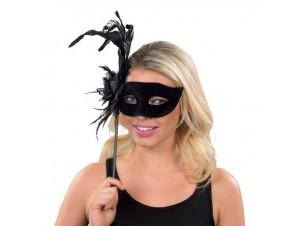 Αποκριάτικη μάσκα με κοντάρι