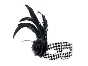 Αποκριάτικη μάσκα με φτερό