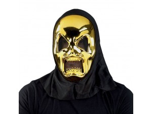 Αποκριάτικη μάσκα Τρόμου Χρυσή