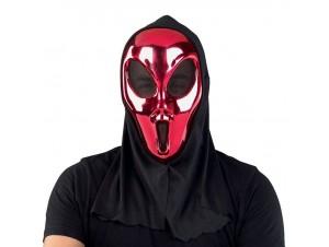 Αποκριάτικη μάσκα Φάντασμα Κόκκινη
