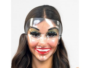 Αποκριάτικη μάσκα Διάφανη