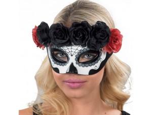 Αποκριάτικη μάσκα με λουλούδια