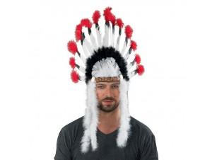 Αποκριάτικο καπέλο Ινδιάνου Αρχηγού
