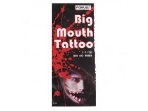 Αποκριάτικο Τατουάζ στόματος