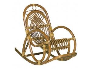 Κουνιστή πολυθρόνα BAMBOO - 1187 S