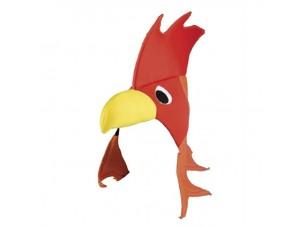 Αποκριάτικο καπέλο κότα